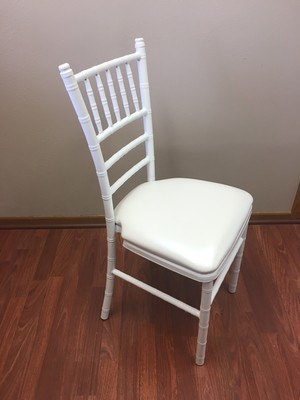 White Aluminum Chiavari Chair Rental
