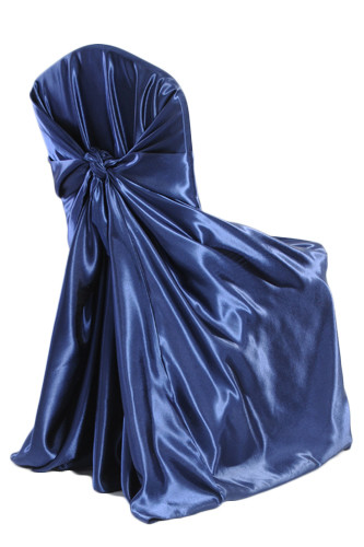 Navy Universal Chair Cover