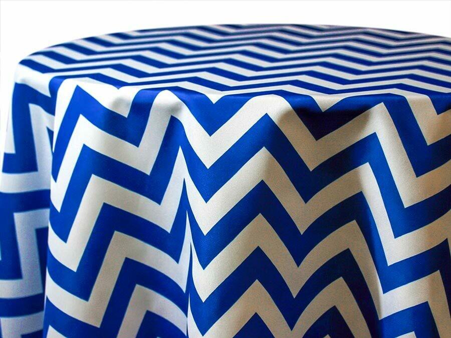 Chevron Tablecloths Rentals