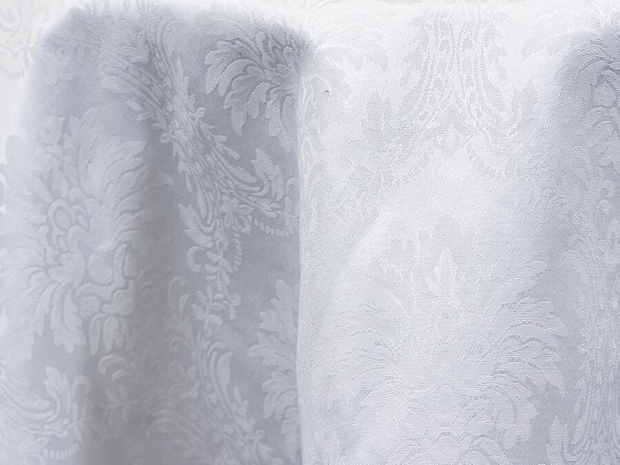 Black Damask Tablecloths Rentals