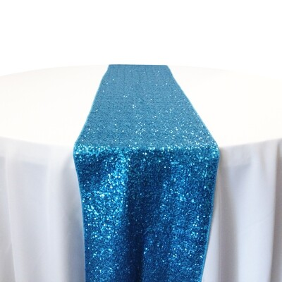 Glitz Sequin Table Runner Rentals (Taffeta Backing)