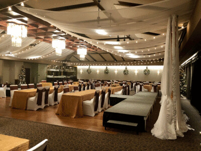Italian Lighting Rentals - Des Moines Golf & Country Club