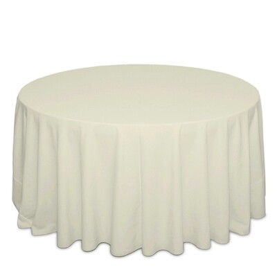 Ivory Tablecloth Rentals - Cottoneze