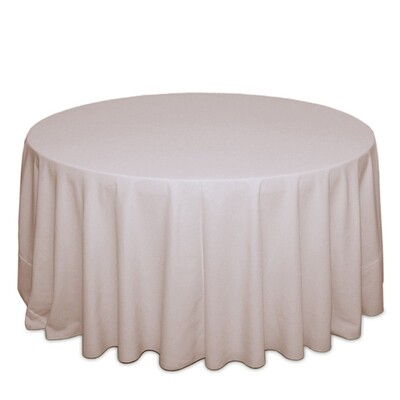 Beige Tablecloth Rentals - Polyester