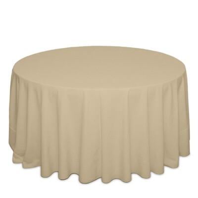 Camel Tablecloth Rentals - Polyester
