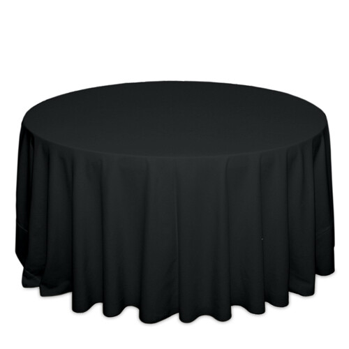Black Tablecloth Rentals - Polyester