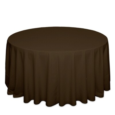 Brown Tablecloth Rentals - Polyester