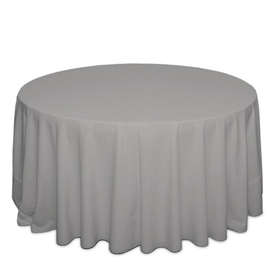 Grey Tablecloth Rentals - Polyester