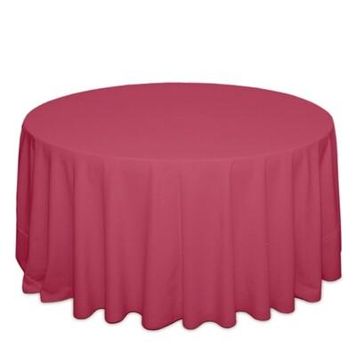 Fuchsia Tablecloth Rentals - Polyester