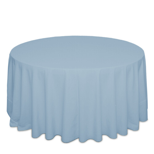 Light Blue Tablecloth Rentals - Polyester
