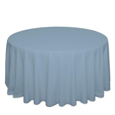 Powder Blue Tablecloth Rentals - Polyester