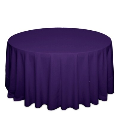 Purple Tablecloth Rentals - Polyester