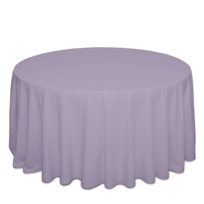 Lilac Tablecloth Rentals - Polyester
