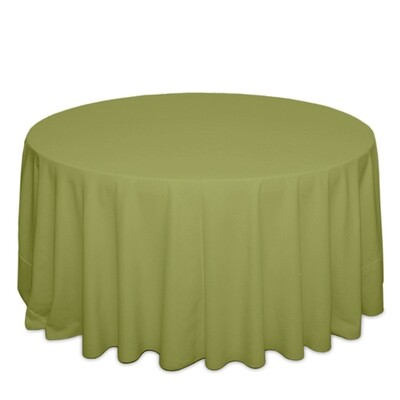 Light Olive Tablecloth Rentals - Polyester