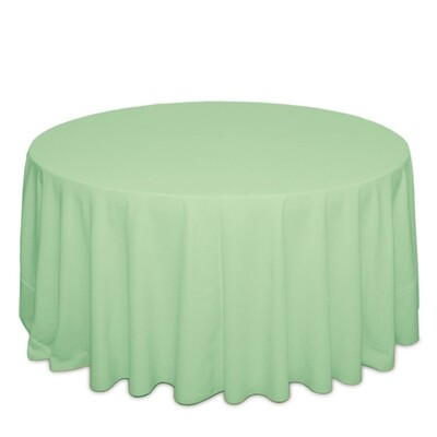 Mint Green Tablecloth Rentals - Polyester