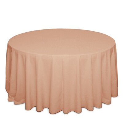 Peach Tablecloth Rentals - Polyester