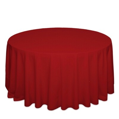Red Tablecloth Rentals - Polyester