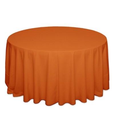 Pumpkin Tablecloth Rentals - Polyester