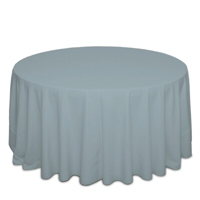 Slate Blue Tablecloth Rentals - Polyester