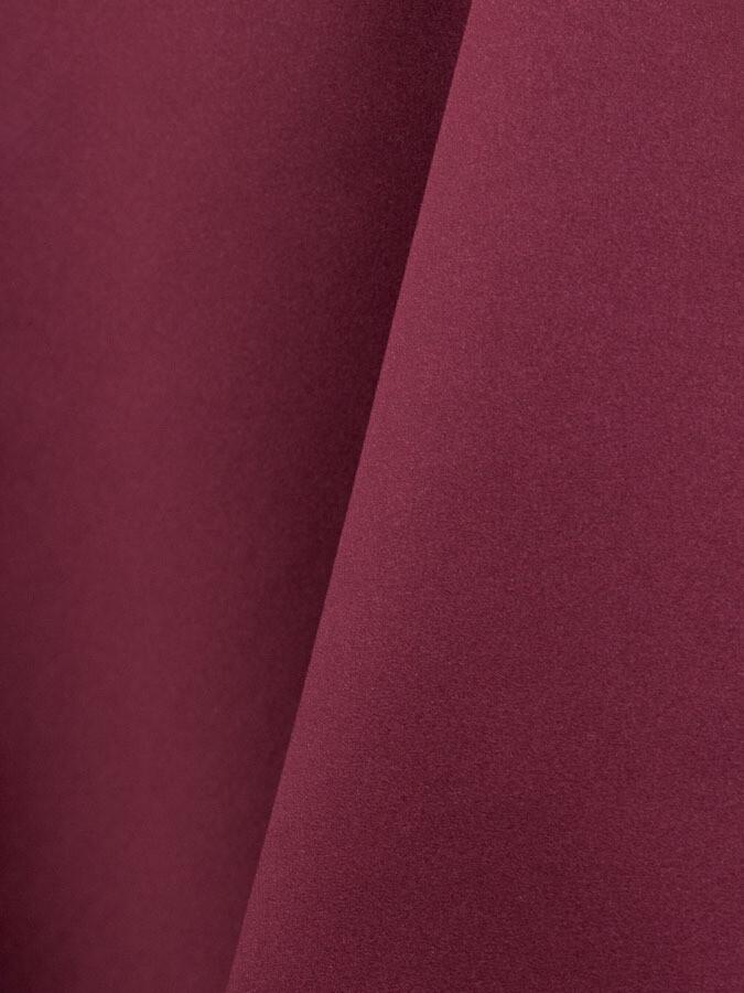 Burgundy Lamour Matte Satin Table Cloth Rentals