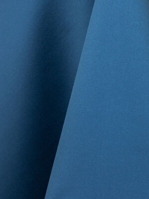 Azure Lamour Matte Satin Table Cloth Rentals