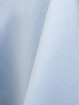 Light Blue Lamour Matte Satin Table Cloth Rentals