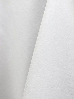 White Lamour Matte Satin Table Cloth Rentals