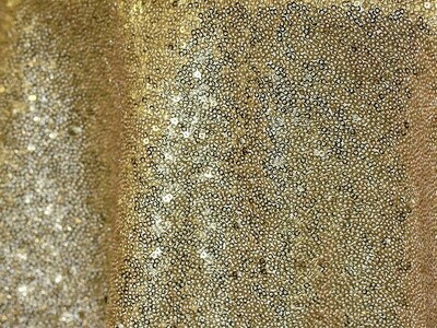 Gold Sequin Tablecloth Rentals - Mesh