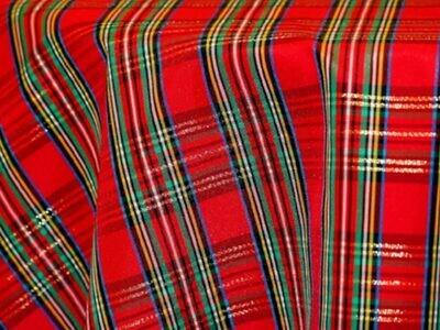 Holiday Plaid Tablecloth Rentals