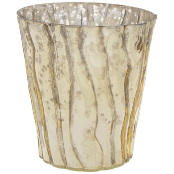 Mercury Glass Candle Holder