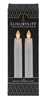 White LED Resin Taper Candle Rental - 8.5