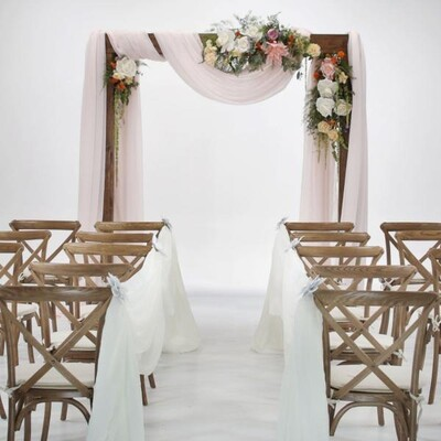 Wooden Wedding Arch Rental