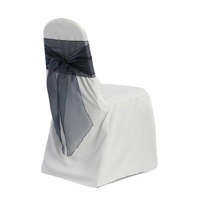White Banquet Chair Cover Rentals - B#1