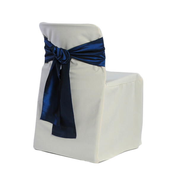 White Conference Chair Cover Rentals