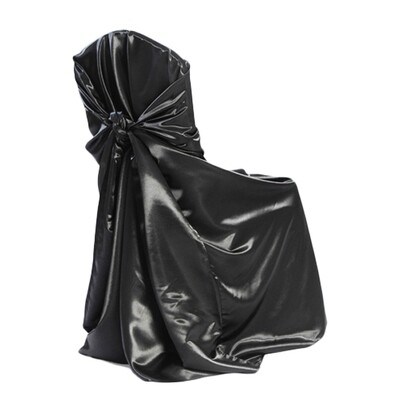 Black Universal Chair Covers