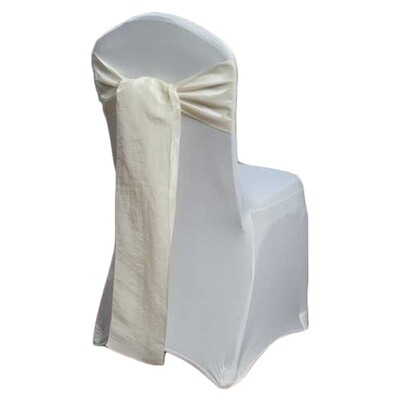 Banana Chair Sash Rental - Taffeta