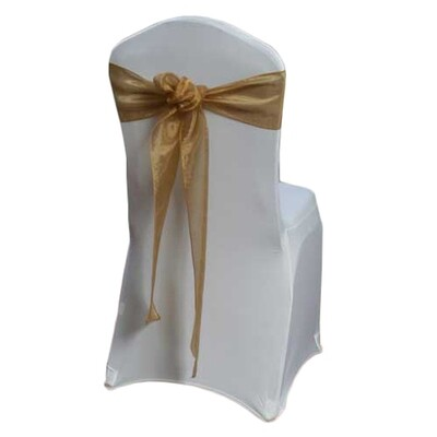 Bronze Chair Sash Rental - Mirror
