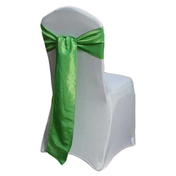 Chartreuse Green Taffeta Chair Sashes