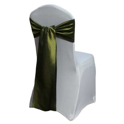 Fern Chair Sash Rental - Taffeta