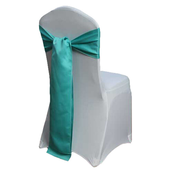Mermaid Matte Satin Chair Sashes