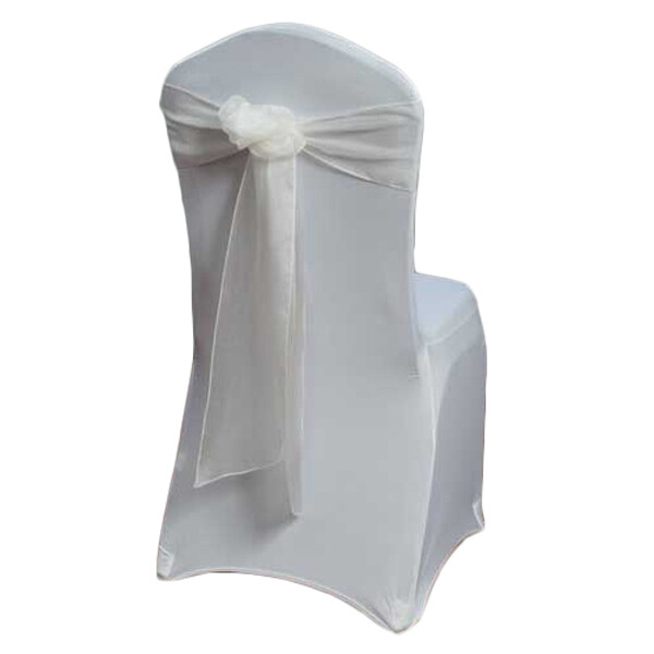 Ivory Organza Sheer Chair Sashes