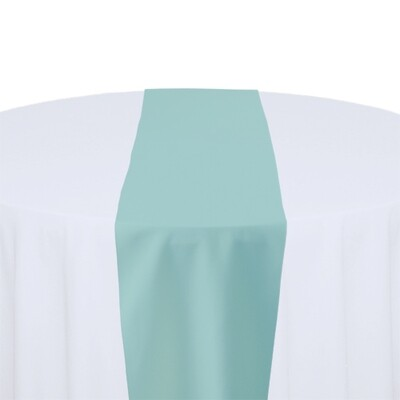 Aqua Table Runner Rentals - Polyester