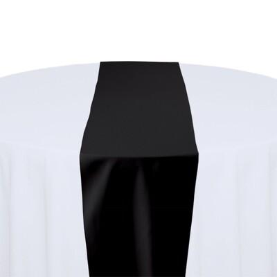 Black Table Runner Rentals - Polyester