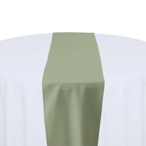 Celedon Table Runner Rentals - Polyester