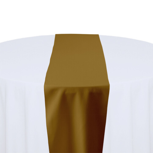Copper Table Runner Rentals - Polyester