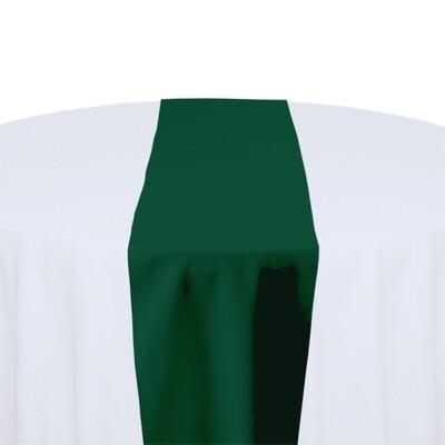 Hunter Green Table Runner Rentals - Polyester