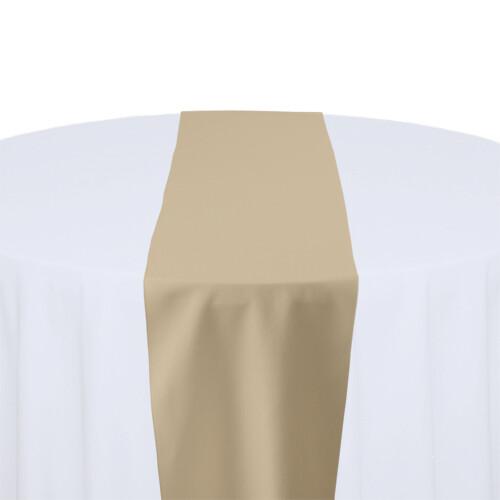 Camel Table Runner Rentals - Polyester