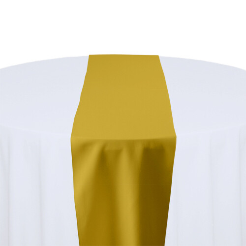Gold Table Runner Rentals - Polyester