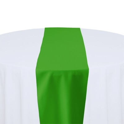Kelly Green Table Runner Rentals - Polyester