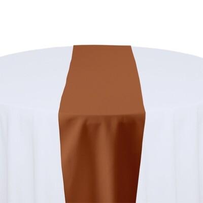 Burnt Orange Table Runner Rentals - Polyester